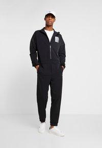 Calvin Klein Performance - LONG SLEEVE JUMPSUIT - Tracksuit - black - 1