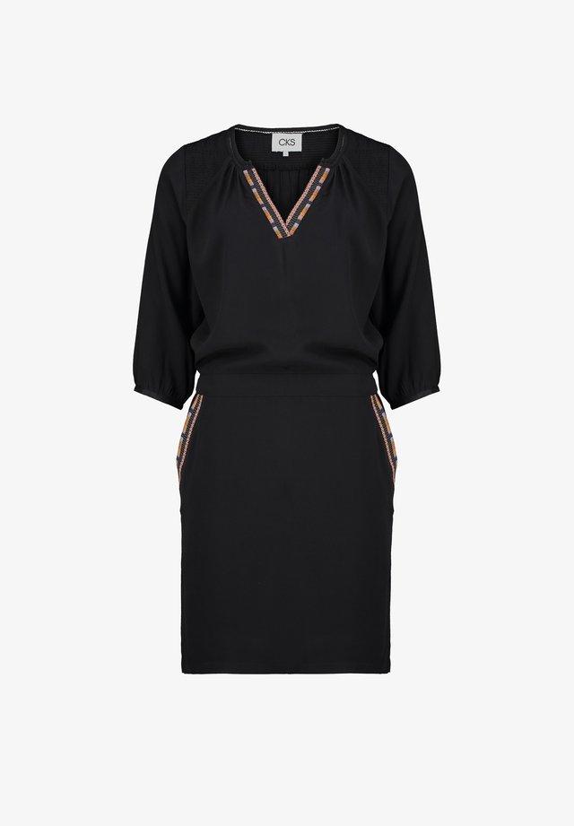 RADELLA - Korte jurk - off-black