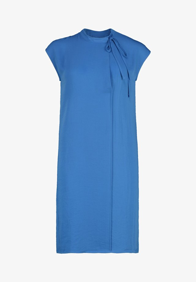 VILDA - Korte jurk - pen blue