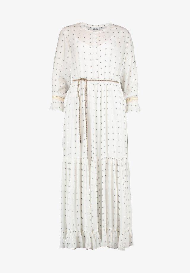 Korte jurk - off white