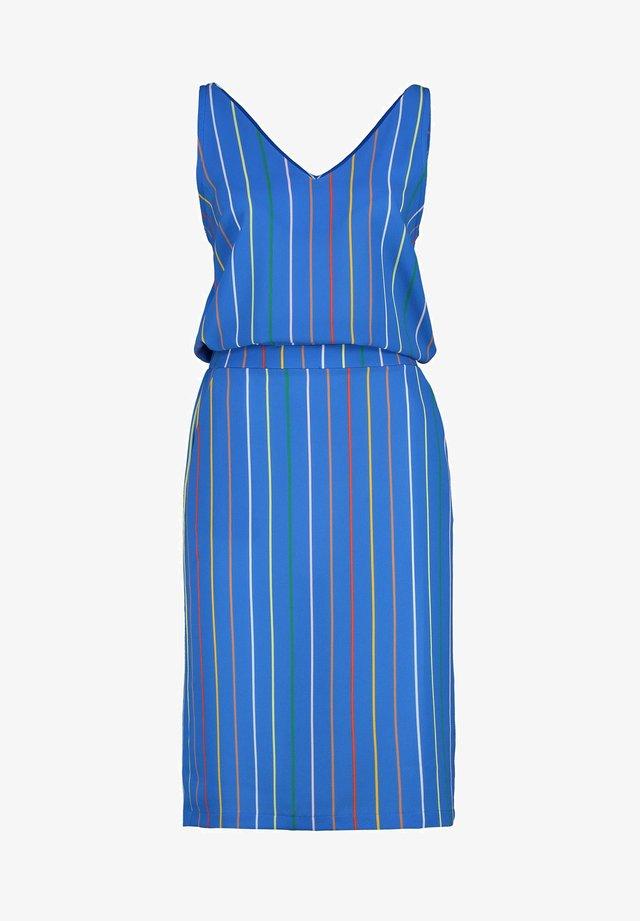 FELIZ - Korte jurk - pen blue