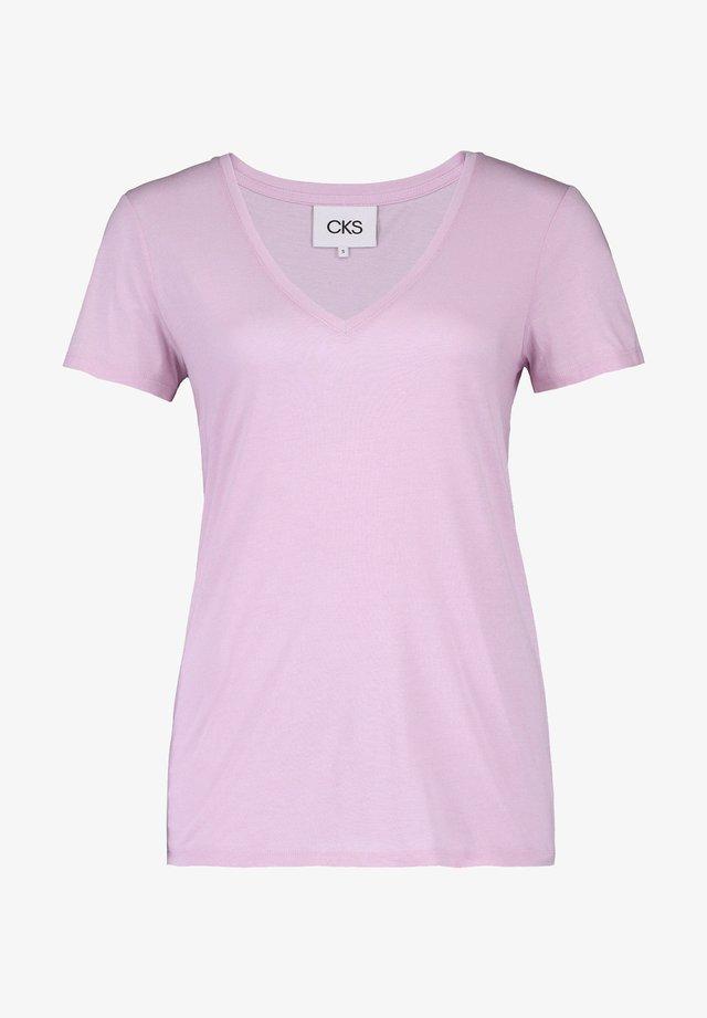 MONACO - T-shirt basic - lila