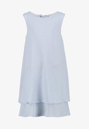 DOUDOU - Korte jurk - light blue