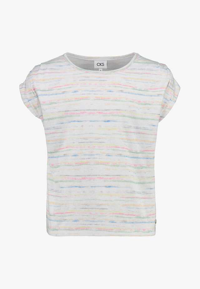 DALIDA - T-shirt print - off white