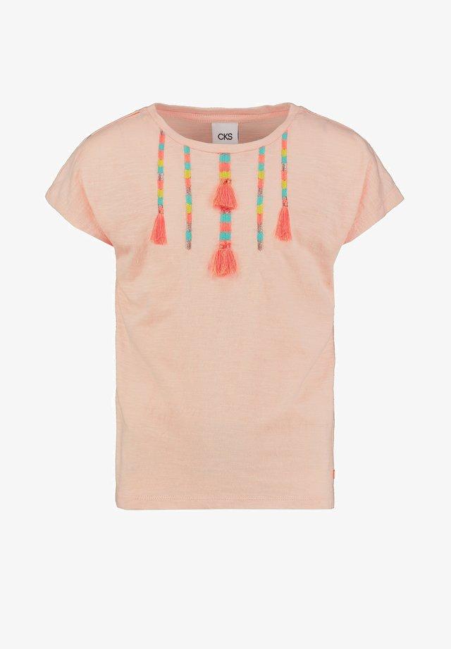 ELBERTA - T-shirt print - soft rose