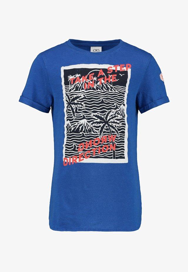 YARLES - T-shirt print - dark blue