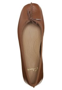 Clarks Unstructured - FRECKLE ICE - Ballet pumps - dark brown - 1