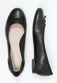 Clarks - COUTURE BLOOM - Ballerina's - black - 3