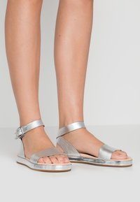 Clarks - BOTANIC IVY - Sandals - silver - 0
