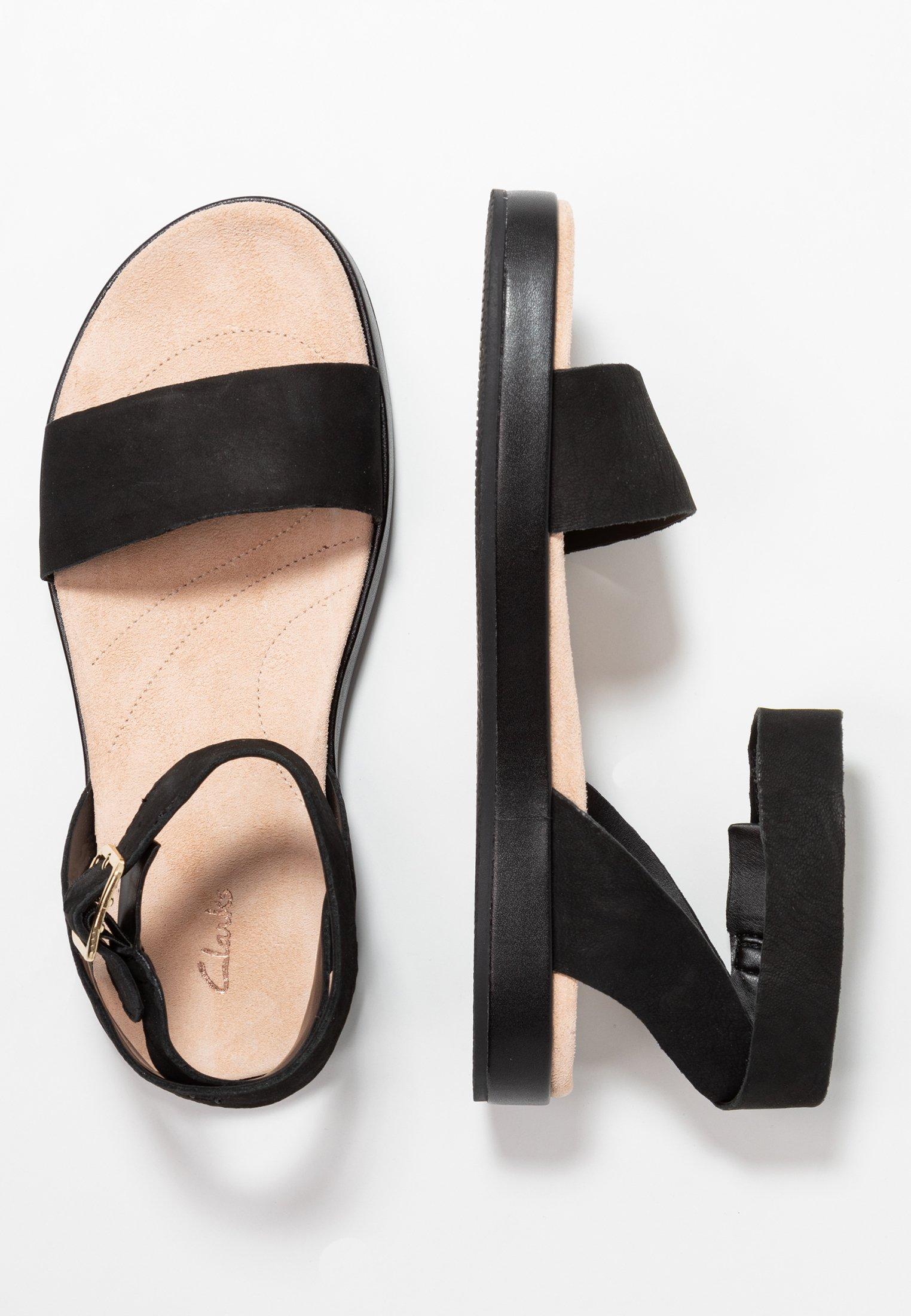 BOTANIC IVY Sandaalit nilkkaremmillä black