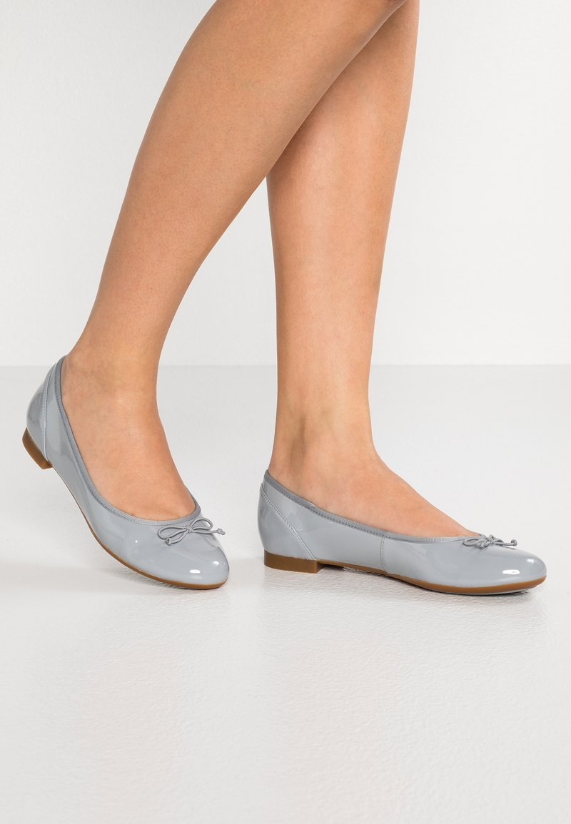 Clarks - COUTURE BLOOM - Ballet pumps - grey/blue