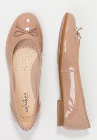 Clarks - COUTURE BLOOM - Ballet pumps - nude - 3