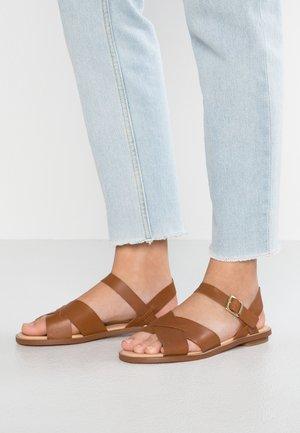 WILLOW GILD - Sandals - light tan
