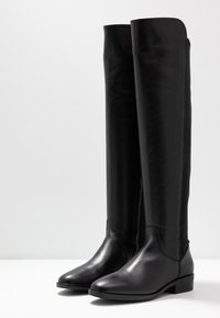 Clarks - PURE CADDY - Over-the-knee boots - black - 4