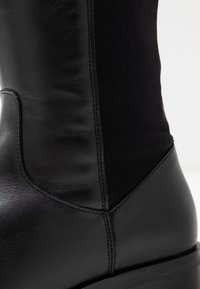 Clarks - PURE CADDY - Over-the-knee boots - black