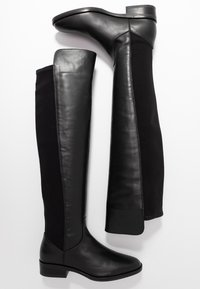 Clarks - PURE CADDY - Over-the-knee boots - black - 3