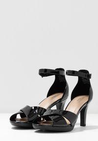 Clarks - ADRIEL COVE - High heeled sandals - black - 4