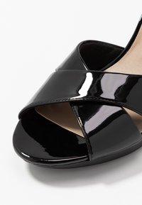 Clarks - ADRIEL COVE - High heeled sandals - black - 2