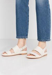Clarks - PURE STRAP - Sandals - white - 0