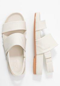 Clarks - PURE STRAP - Sandalias - white - 3