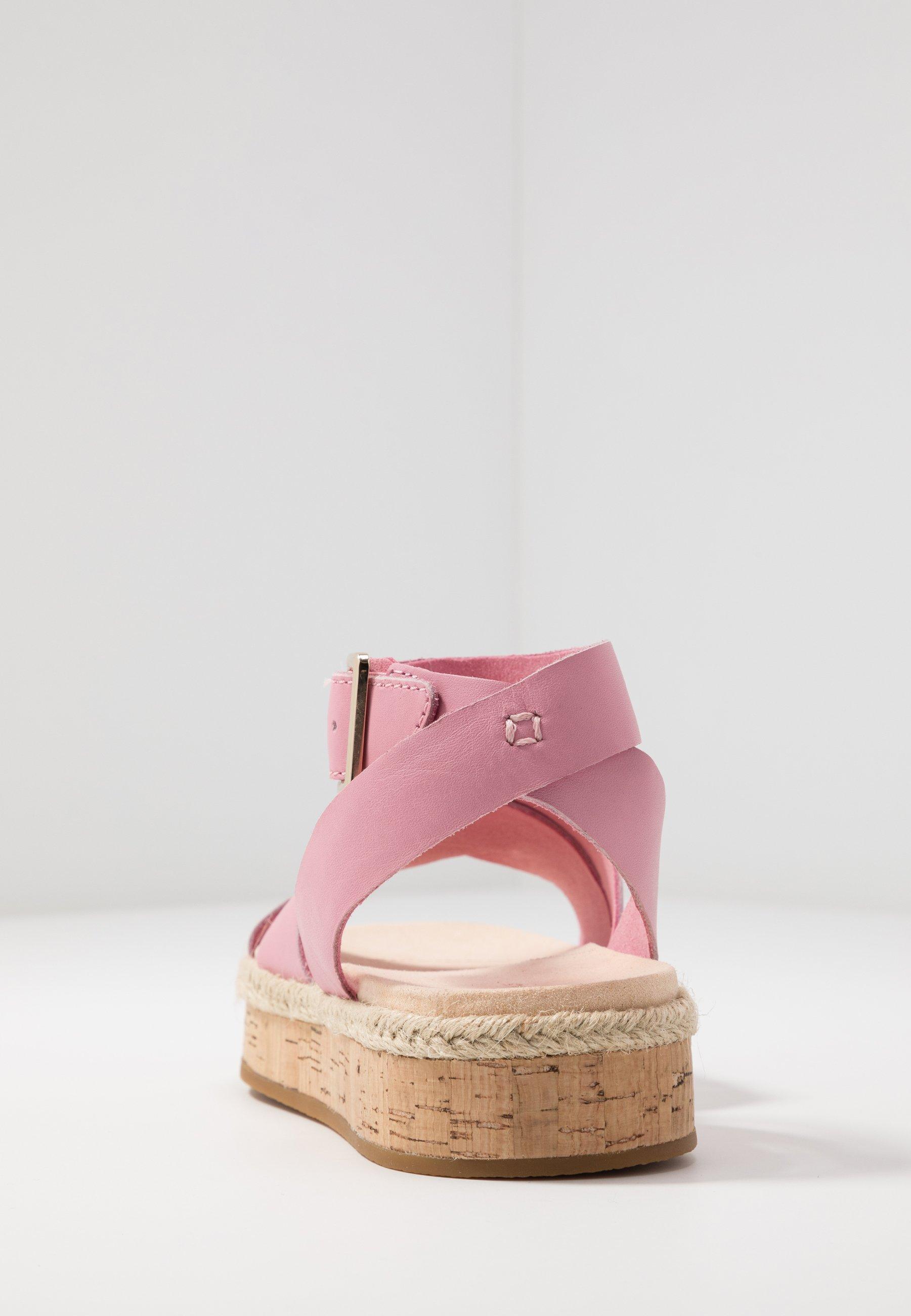 Clarks Botanic Poppy - Espadrille Pink