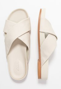 Clarks - PURE CROSS - Klapki - white - 3