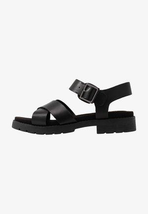 ORINOCO STRAP - Sandalen met plateauzool - black