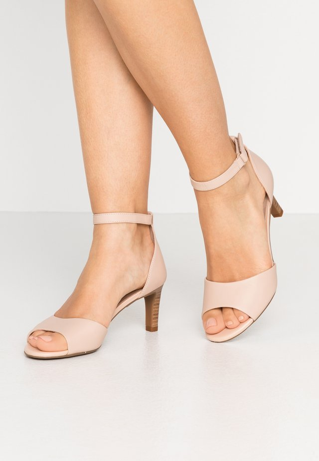 ALICE GRETA - Sandals - blush