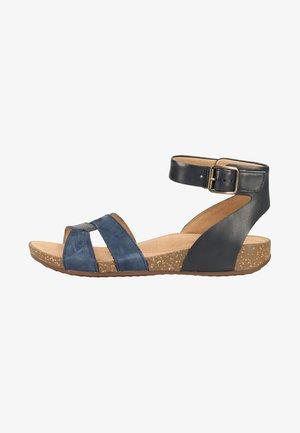 Sandaler m/ skaft - navy