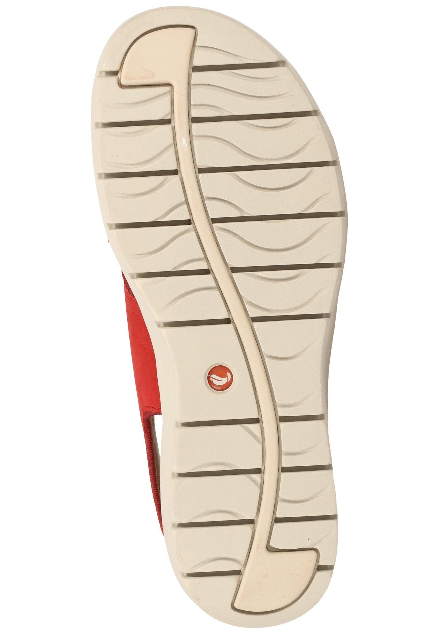 Clarks CLARKS SANDALEN - Sandały na koturnie - red