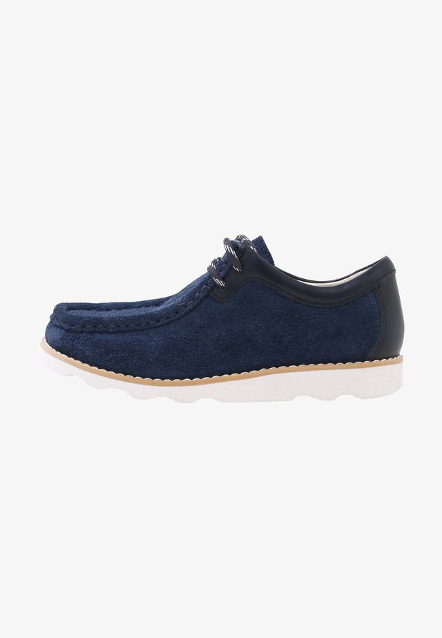 CROWN WALL - Casual lace-ups - dark blue
