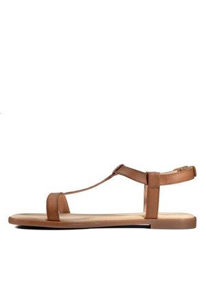 BAY ROSA - Sandals - hellbraun/kombi