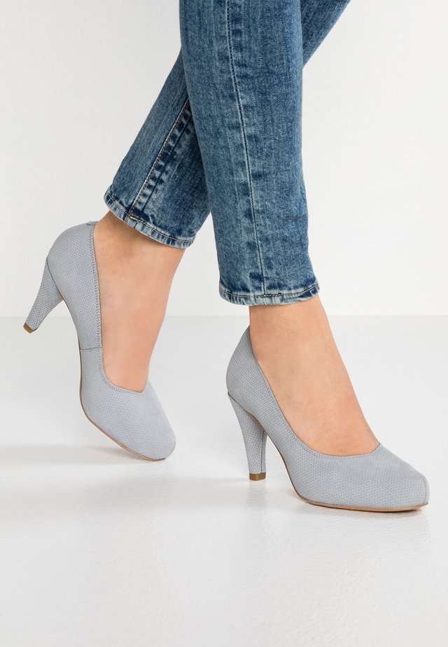 DALIA ROSA - Zapatos altos - grey/blue