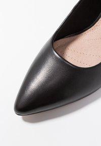 Clarks - LINVALE JERICA - Classic heels - black - 2