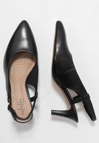 Clarks - LINVALE LOOP - Tacones - black - 3