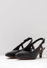 Clarks - LINVALE LOOP - Tacones - black - 4