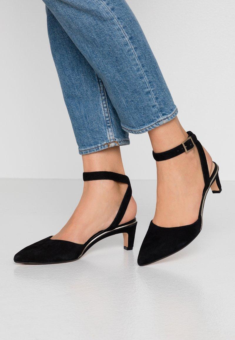 Clarks - ELLIS GLAM - Classic heels - black