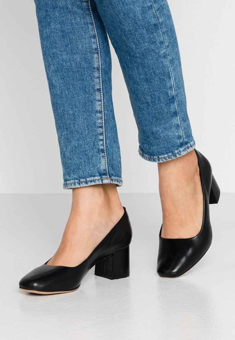 Clarks - SHEER ROSE - Classic heels - black