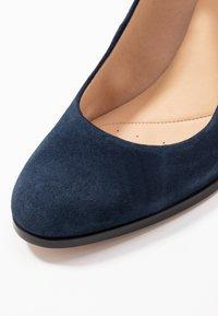 Clarks - KAYLIN ALBA - Classic heels - navy - 2
