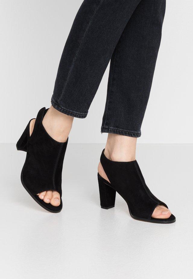 KAYLIN SLING - High heeled sandals - black