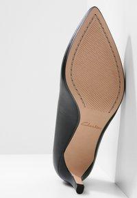 Clarks - LAINA - Classic heels - black - 5