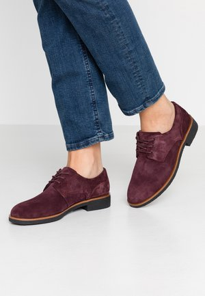 GRIFFIN LANE - Lace-ups - burgundy