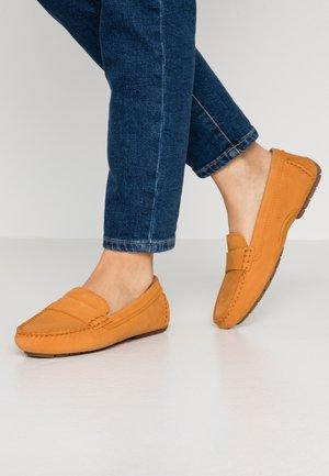 Moccasins - amber