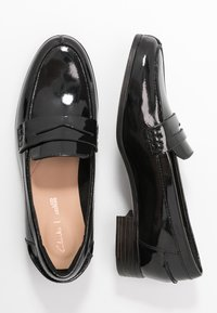 Clarks - HAMBLE LOAFER - Slip-ons - black - 3