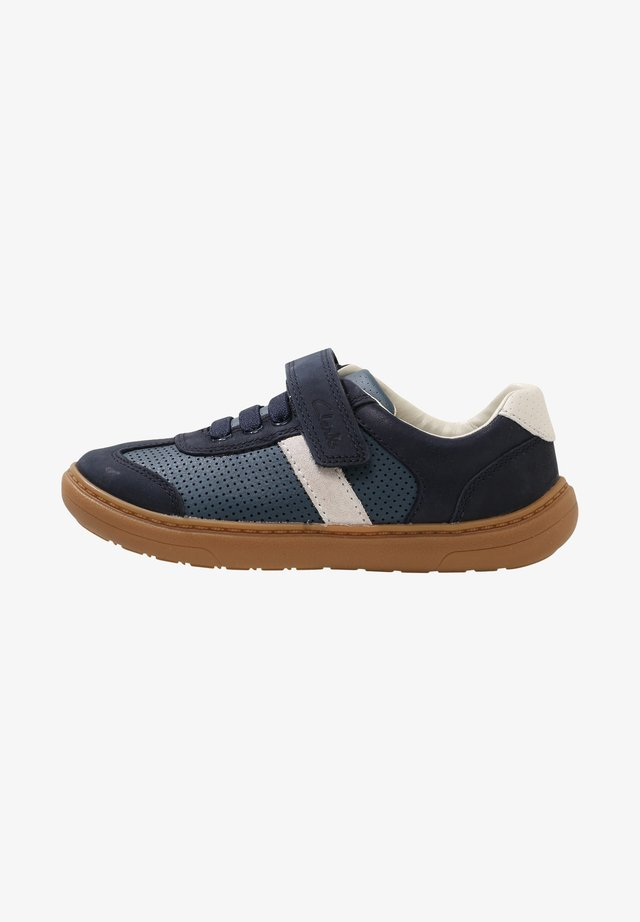FLASH STEP KID - Casual lace-ups - blue