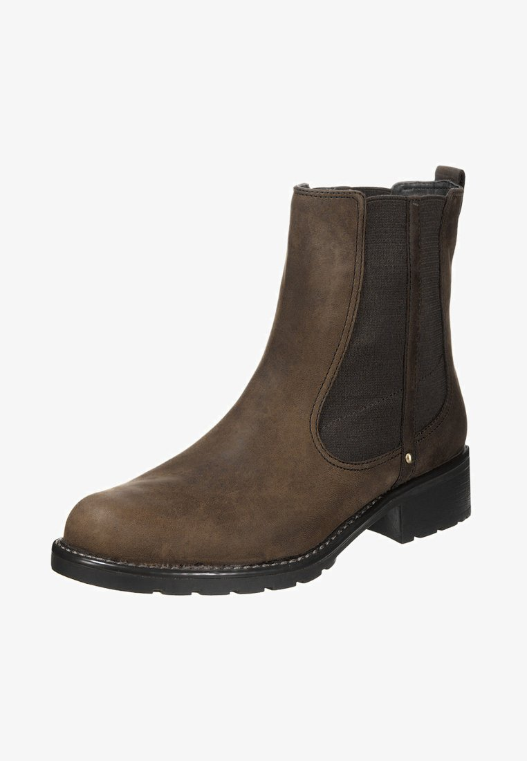 Clarks - ORINOCO CLUB - Classic ankle boots - brown snuff