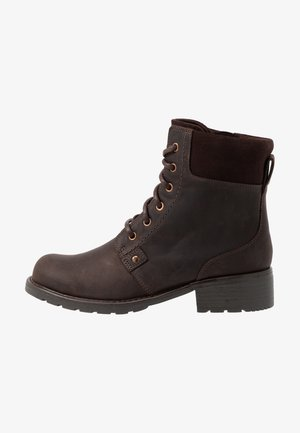 ORINOCO SPICE - Lace-up ankle boots - dark brown