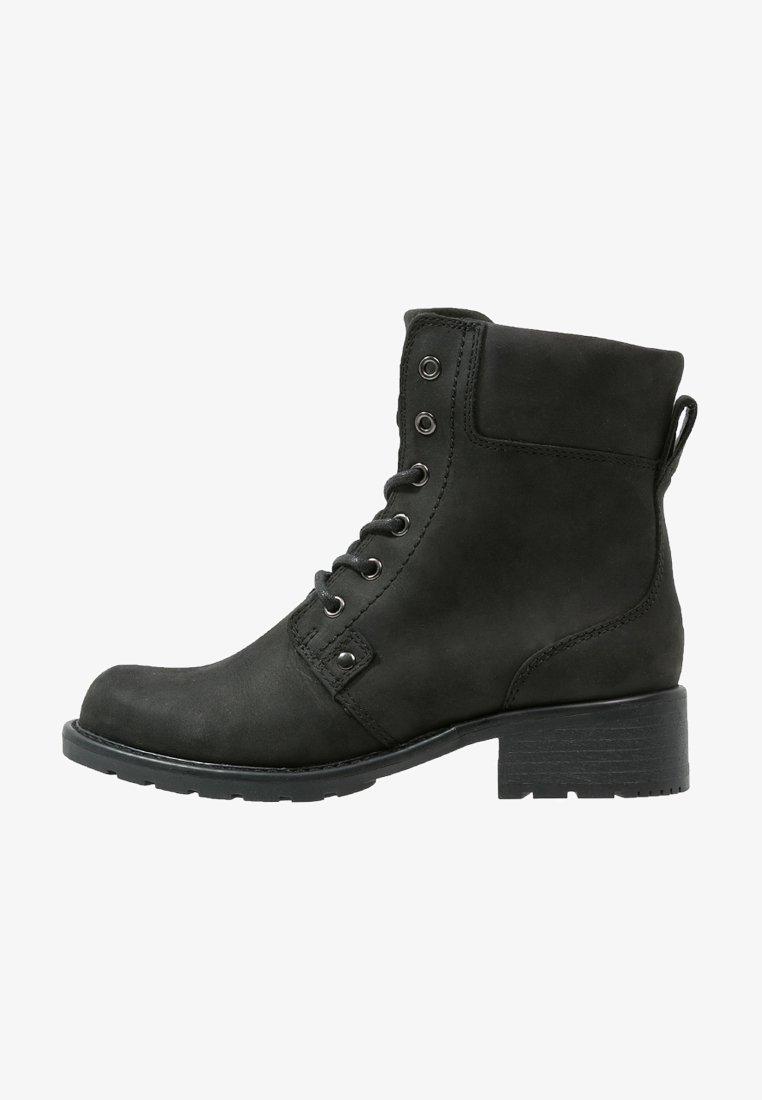 Clarks - ORINOCO SPICE - Šněrovací kotníkové boty - black