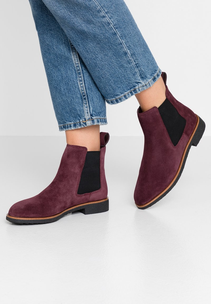 Clarks - GRIFFIN PLAZA - Ankle boots - burgundy