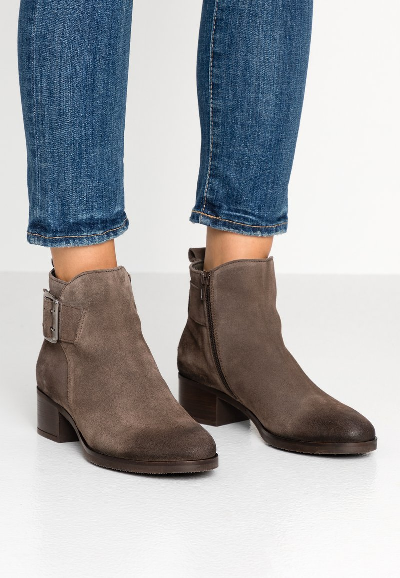 Clarks - MILA CHARM - Ankle boots - taupe